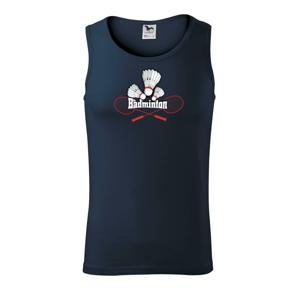 Badminton - nápis s košíky - Tílko pánské Core
