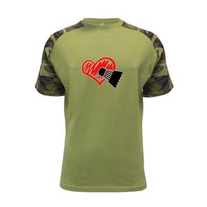 Badminton srdce - Raglan Military