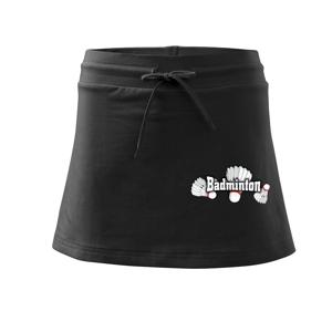 Badminton - tři košíky - Sportovní sukně - two in one