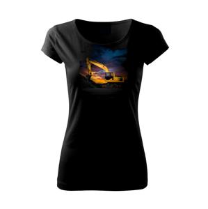 Bagr při západu - Pure dámské triko