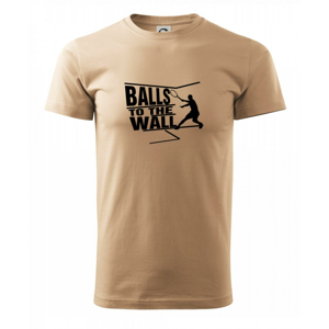Balls to the Wall squash - Heavy new - triko pánské