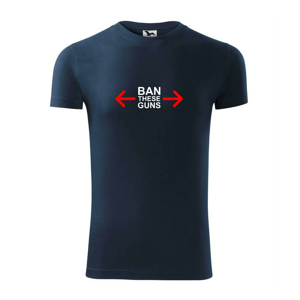 Ban these guns - Replay FIT pánské triko
