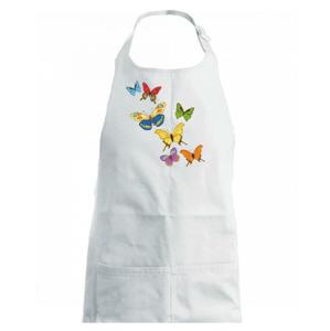 Barevní motýli - Zástěra na vaření