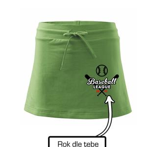 Baseball league vlastní ročník - Sportovní sukně - two in one