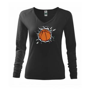 Basketbal míč v triku - Triko dámské Elegance