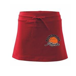 Basketbalová rodina - Sportovní sukně - two in one