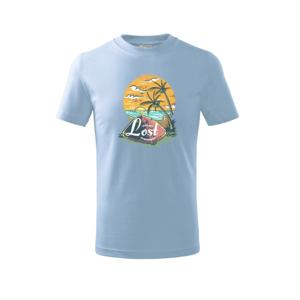 Beach Camping - Triko dětské basic