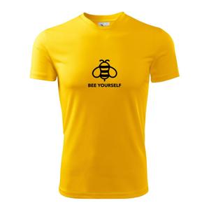 Bee yourself - Dětské triko Fantasy sportovní (dresovina)