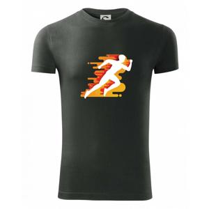 Běhání -  oranžový muž - Viper FIT pánské triko
