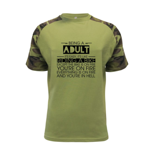 Being a adult - bike - Raglan Military