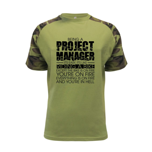 Being A Project Manager - bike - Raglan Military