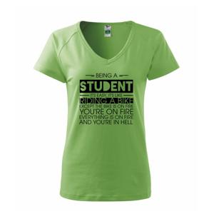 Being a student - bike - Tričko dámské Dream