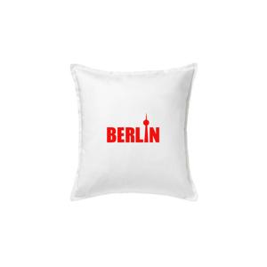 Berlin nápis věž Berliner Fernsehturm - Polštář 50x50