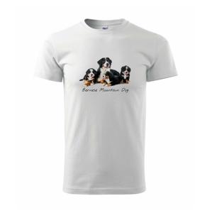 Bernese mountain dog celá rodina - Heavy new - triko pánské