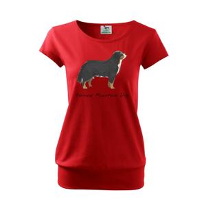 Bernese mountain dog kreslený - Volné triko city