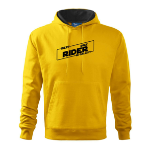 Best Bike rider in galaxy - Mikina s kapucí hooded sweater
