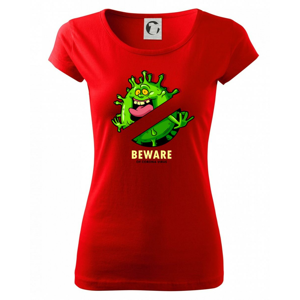 Beware of corona virus - Pure dámské triko