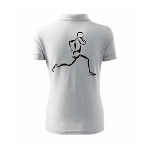 Běžec - Polokošile dámská Pique Polo