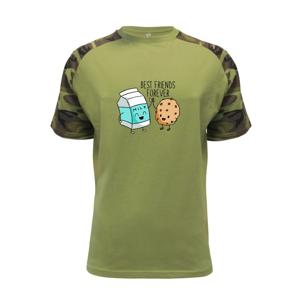 BFF mléko a sušenka - Raglan Military