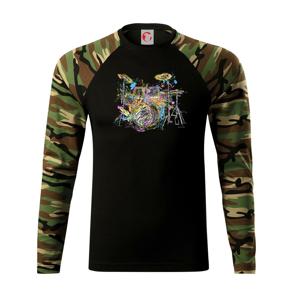 Bicí barevné splash - Camouflage LS