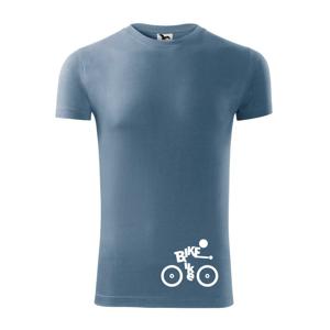 Bike nápis postava - Viper FIT pánské triko