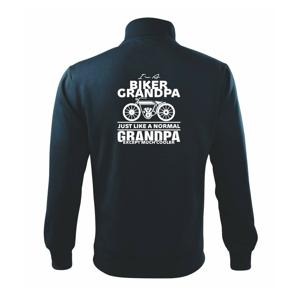 Biker Grandpa - Mikina bez kapuce Adventure