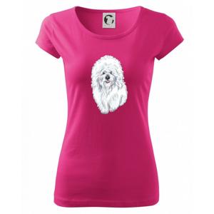 Bišonek kreslený - Pure dámské triko