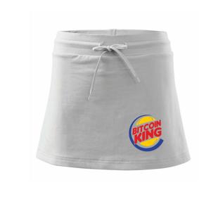 Bitcoin King - Sportovní sukně - two in one
