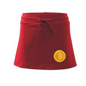 Bitcoin mince - Sportovní sukně - two in one