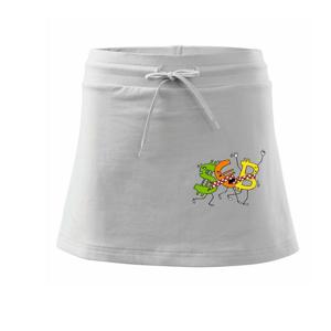 Bitcoin (Pecka design) - Sportovní sukně - two in one
