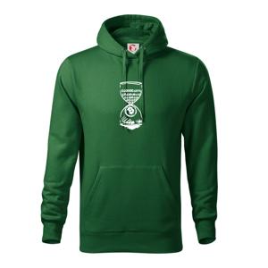 Bitcoin přesýpací hodiny - Mikina s kapucí hooded sweater
