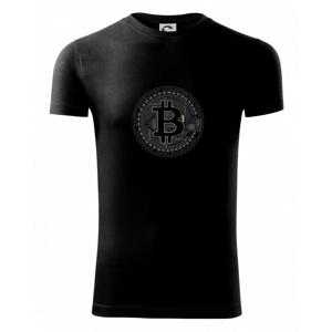 Bitcoin tištěný spoj - Viper FIT pánské triko