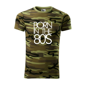 Born In The 80's - Army CAMOUFLAGE
