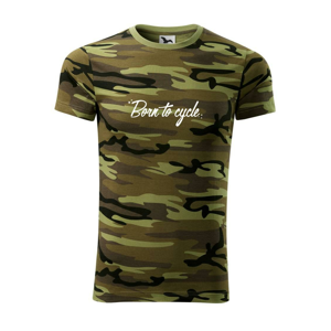 Born to cycle - psací - Army CAMOUFLAGE
