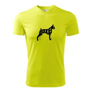 Boxer - Pánské triko Fantasy sportovní (dresovina)
