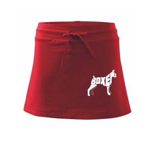 Boxer - Sportovní sukně - two in one