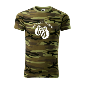 Boxing club nápis - Army CAMOUFLAGE