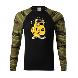 Boxing legend - Camouflage LS