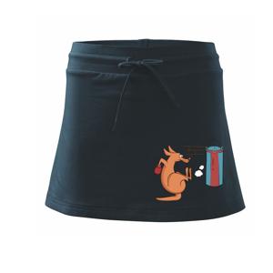 Boxující klokan - Sportovní sukně - two in one