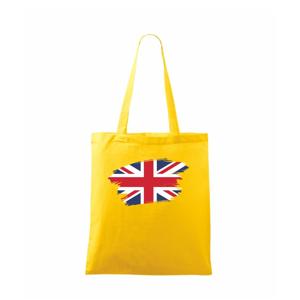 Britská vlajka roztrhaná - Taška malá