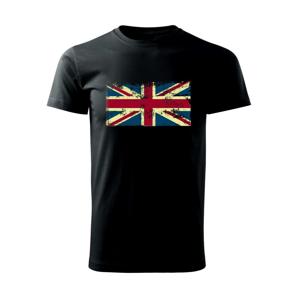Britská vlajka stará - Heavy new - triko pánské