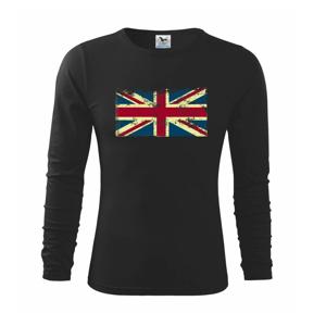 Britská vlajka stará - Triko dětské Long Sleeve