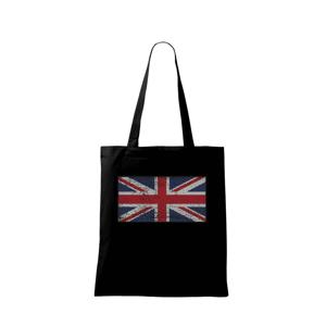 Britská vlajka tečkovaná - Taška malá