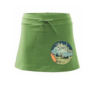 Camp ovál - Sportovní sukně - two in one