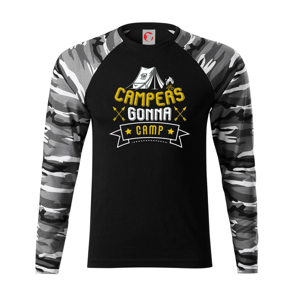 Campers gonna camp - Camouflage LS