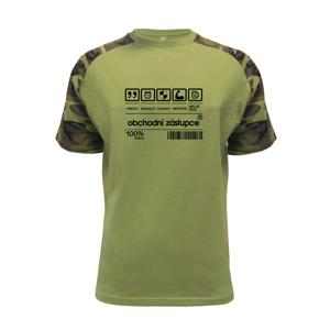 Čárový kód obchodní zástupce - Raglan Military