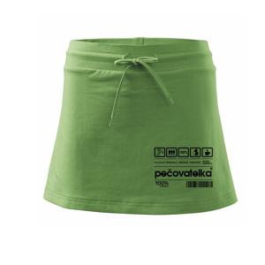 Čárový kód - pečovatelka - Sportovní sukně - two in one
