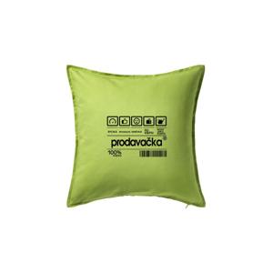 Čárový kód - Prodavačka - Polštář 50x50