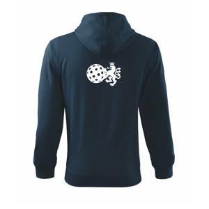 Český lev florbal - Mikina s kapucí na zip trendy zipper