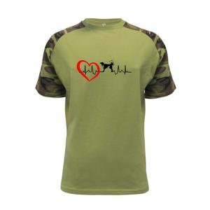 Český strakatý pes EKG - Raglan Military
